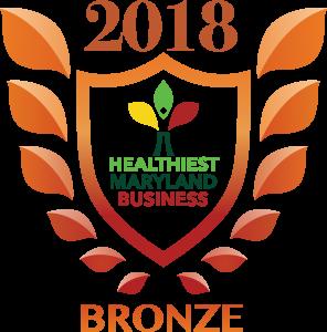 2018 Bronze Wellness at Work Award