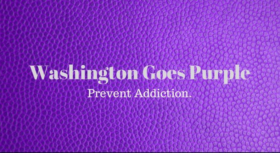 Washington Goes Purple