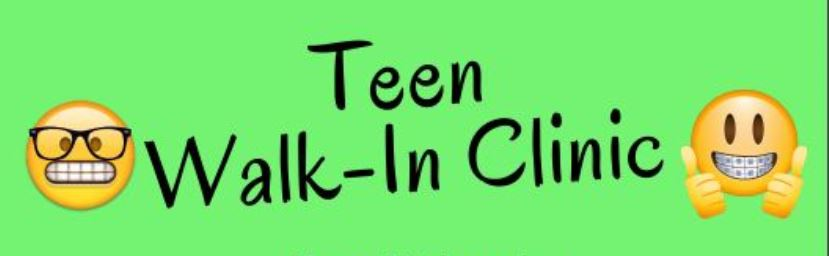 Teen Walk-In Clinic