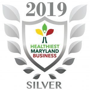 Silver 2019 Wellness at Work Award