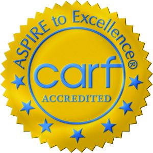 CARF accredited logo
