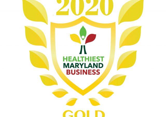 2020 Gold Wellness at Work Award