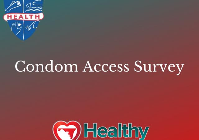 condom access survey